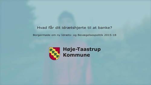 Høje-Taastrup Kommune – Borgermøde teaser