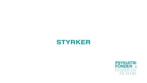 Psykiatrifonden – Styrker