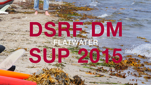 DSRF DM SUP Flatwater 2015